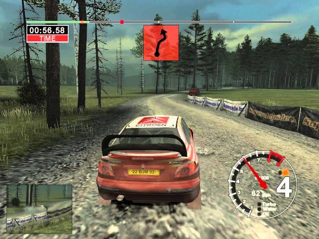 Colin Mcrae Rally 04: All Maps - Finland Stage 1 [FIN S1] (HD)
