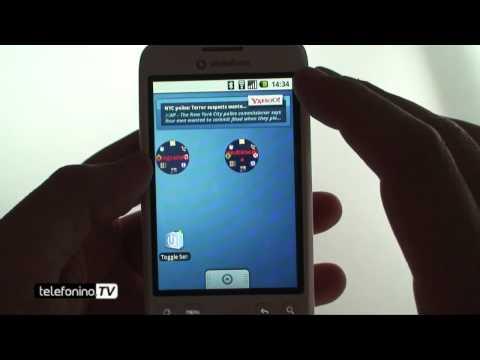 HTC Magic focus applicazioni da telefonino.net