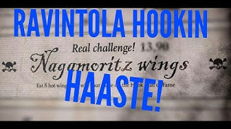 SUOMEN TULISIMMAT SIIVET!?   Ravintola Hookin Naga wings haaste