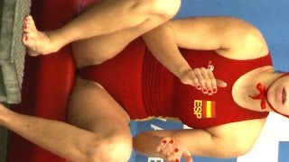 Repeat youtube video female waterpolo player rep. Spain #5