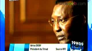 Idriss Deby President du Tchad sur L