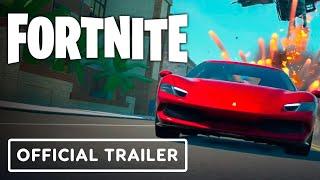Fortnite - Official Ferrari 296 GTB Teaser Trailer