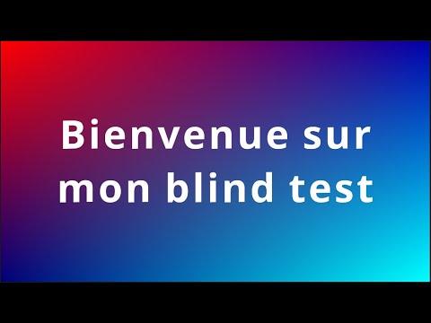 Blind test en tout genre (films, series, dessins animés, animés, chansons)
