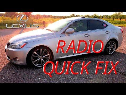 Lexus 2007-10 Radio/Volume Control Quick Fix (Is250)