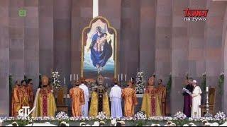 Podróż apostolska Ojca św. Franciszka do Armenii: Udział w Boskiej Liturgii