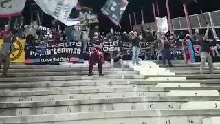 Reggina-Catania 2-1 Catanesi nel settore ospiti