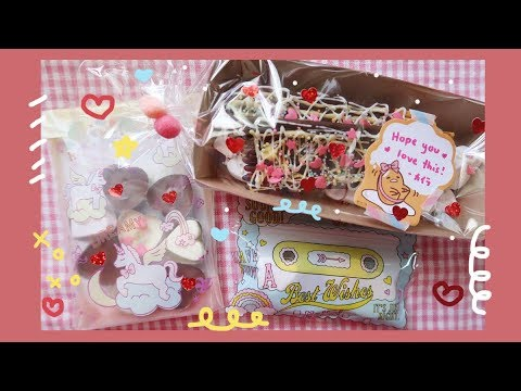 How To Make Kawaii Valentine's Day Chocolates & Deco Pocky ( バレンタインチョコ ) | Rainbowholic 🍫