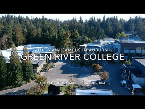[Aerial Photography] The Main Campus of Green River College