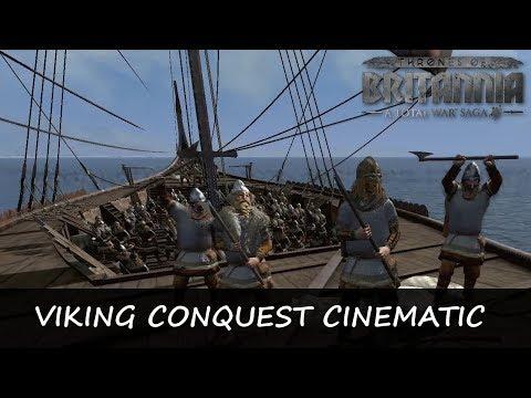 VIKING CONQUEST - Thrones of Britannia Cinematic Battle  