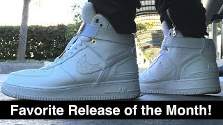 """Nike AF1 """"Just Don"""" is in my Top 5 cop of 2017! 今年買ったスニーカーでトップ5に入る一足!!"""