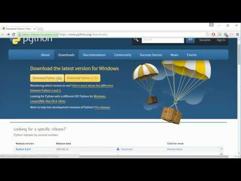 Python Programming Series (Setting up the Environment 1): Python