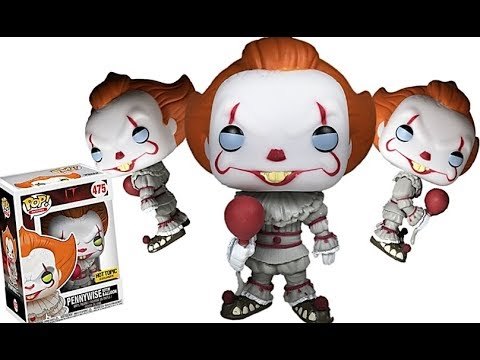 Funko Pop Pennywise With Balloon It Movie Hot Topic