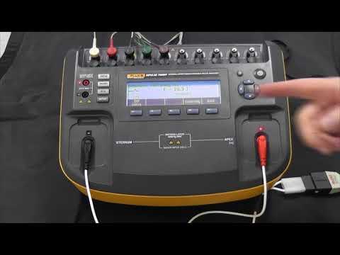 Impulse 7000DP defibrillator analyzer