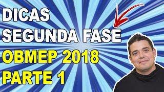 🔴 DICAS PARA ESTUDAR PARA A OBMEP 2018 (SEGUNDA FASE)