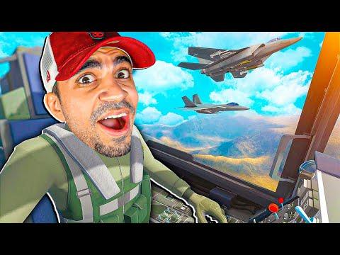 ركبت طائرة  حربية اول مرة في حياتي - اسرع طائرة في العالم - VTOL VR