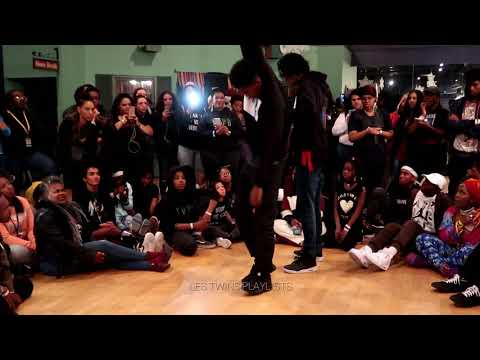 Les Twins Baltimore Workshop | Larry & Rubix Incredible Freestyle | Cypher Pt 5