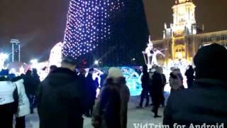 С новым годом Екатеринбург 2014 год