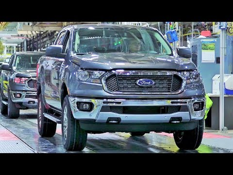 2019 Ford Ranger Production at Michigan Assembly Plant