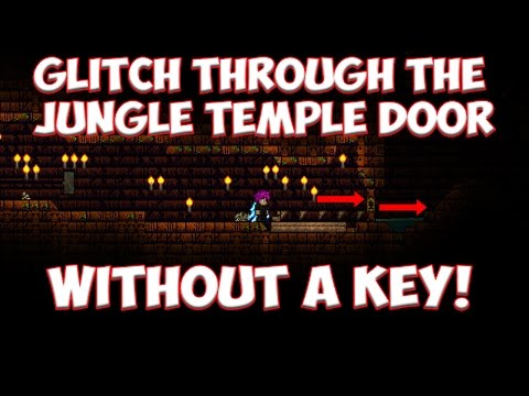 How To Glitch Through Walls And Doors In Terraria 1.3.4