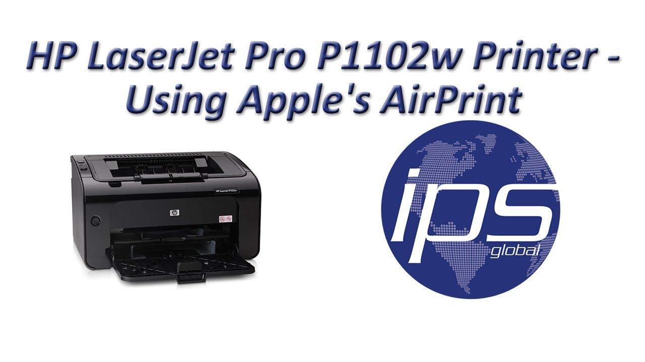 baixar driver impressora hp laserjet pro p1102w