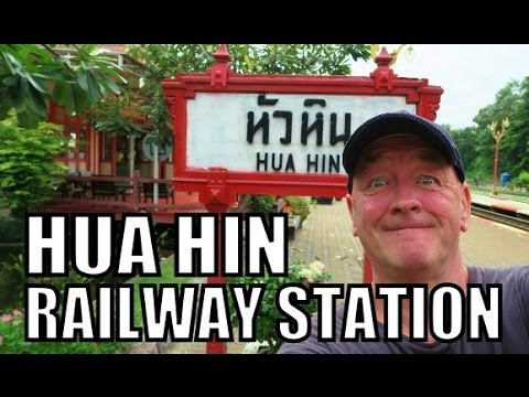 World Famous (Hua Hin Railway Station) Thailand.