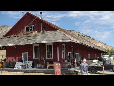 V&T Freight Depot History and inside look