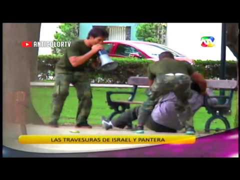 COMBATE Las Travesuras De Israel Y La Pantera Zegarra 09/01/14