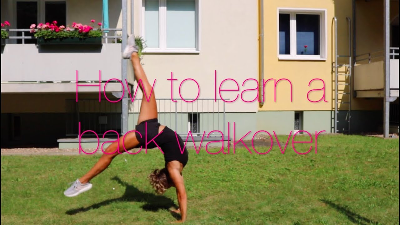 steps on how to do a back walkover