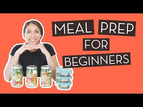 Easy & Healthy Meal Prep for Beginners}