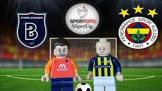 Medipol Başakşehir Fenerbahçe Maç Özeti 0-2 11.02.2018  (LEGO SÜPER LİG MAÇ ÖZETLERİ)/ Lego Football