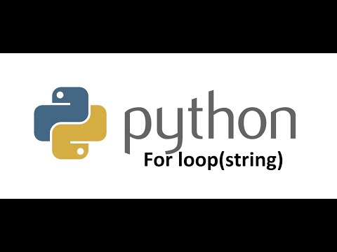 Python Programming Tutorial for beginners | How to use FOR LOOP in Python programming thumbnail