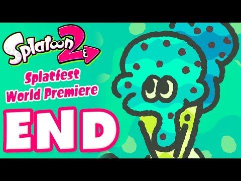 Splatoon 2 Splatfest World Premiere! - Gameplay Part 4 - Team Ice Cream Wins! (Nintendo Switch)