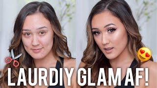 LAURDIY GETS A GLAM AF MAKEOVER!