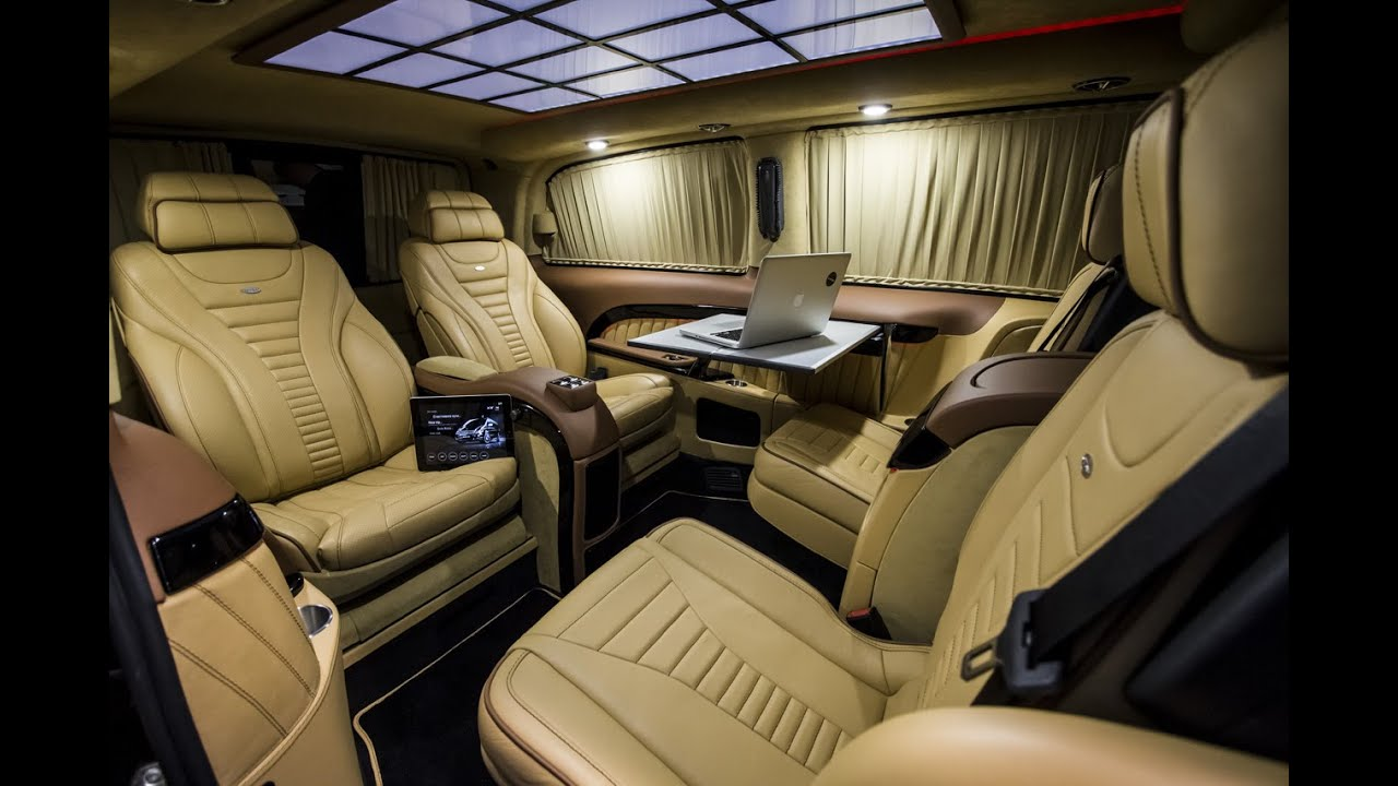 TECHINTACTO® Viano VIP | Luxury Business Van | VIP ...