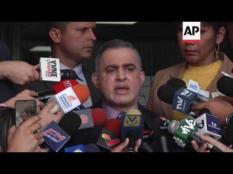Venezuela prosecutor moves on opposition leader