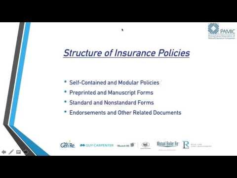 Virtual Insurance School: Insurance Policy Fundamentals
