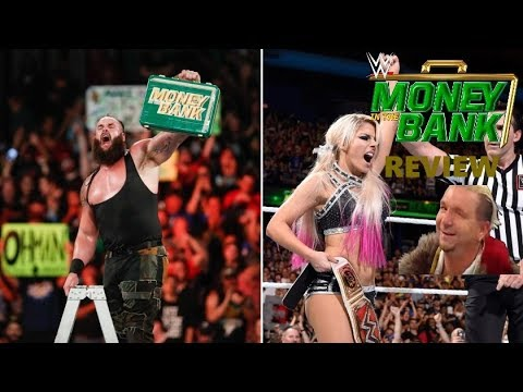 WWE MONEY IN THE BANK 2018 REVIEW BANKRUPT ON ENTERTAINMENT