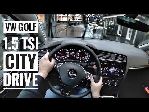 vw golf vii 1 5 tsi 2019 pov city drive youtube. Black Bedroom Furniture Sets. Home Design Ideas