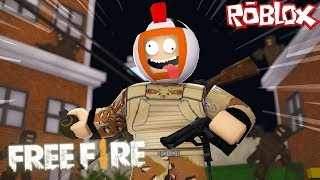 NOVO FREE FIRE DO ROBLOX!! CONSEGUI SOBREVIVER ?