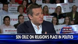 Cruz on Religions Place in Politics: Live and Let Live