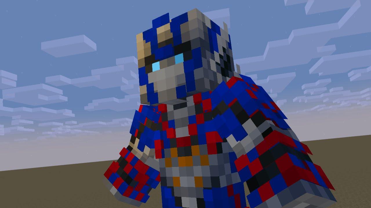 Minecraft Skin Optimus Prime - Toko Pedk