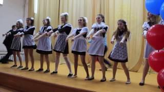 танец девочек,последний звонок 2016
