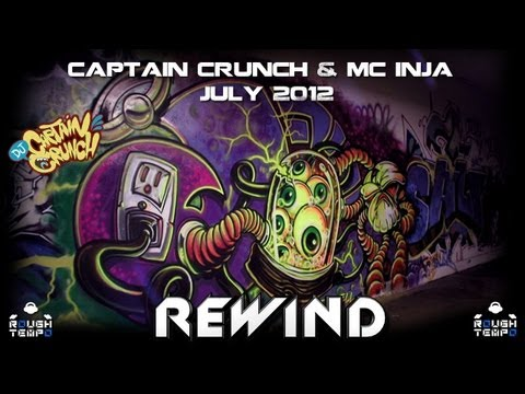 CAPTAIN CRUNCH & INJA - Rough Tempo LIVE! - July 2012