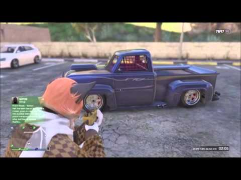 HOW TO SLAM/LOWER A CAR IN GTA V ONLINE || LOWRIDER,BF SURFER...