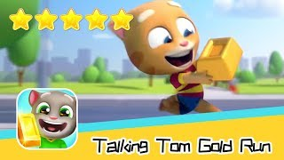 Talking Tom Gold Run Day52 Walkthrough The best cat runner game! Recommend index five stars