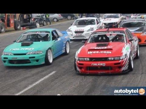 Nissan 240SX drift machines @ Formula Drift Seattle w/ DMac, DAi and Ryan Tuerck Driver Interviews
