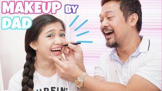 My Dad Does My Makeup! | Kaycee Wonderland