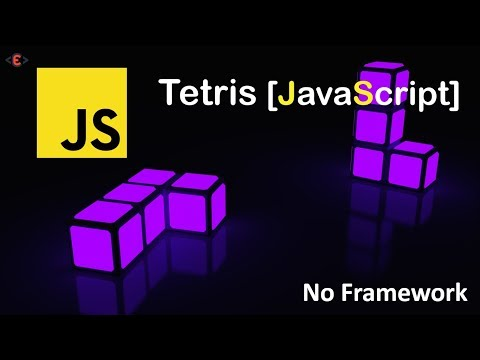 Code Tetris Game Using JavaScript And HTML5