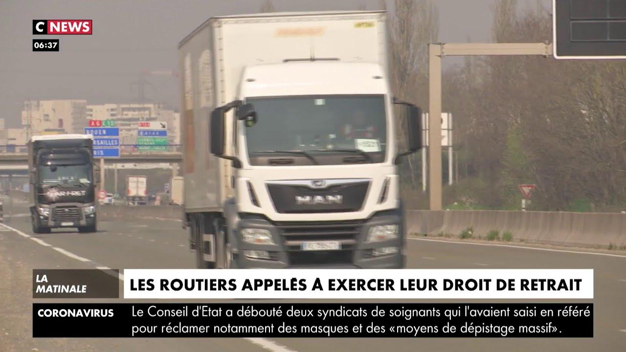 Les routiers appelés à exercer leur droit de retrait