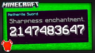 all Minecraft Enchantments BREAK at 2,147,483,647?!